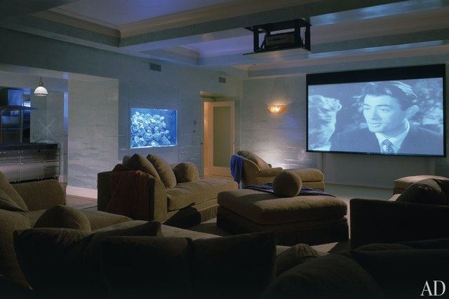 Aquarium On Media Room