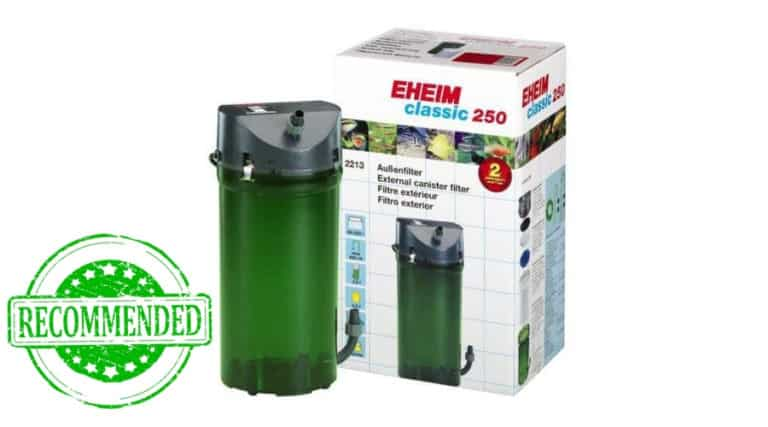 Eheim Canister Filter in white background