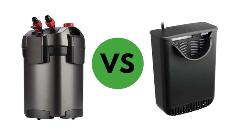 Canister Filter vs. Power Filter