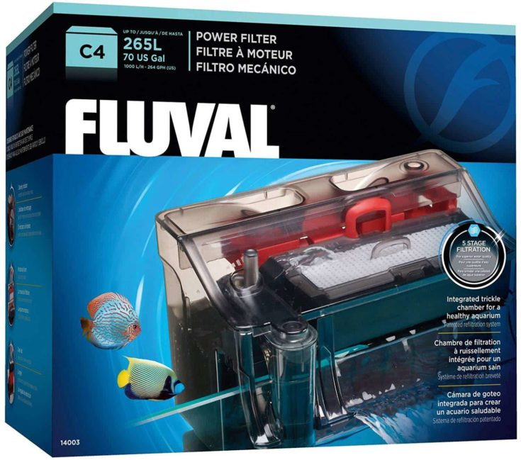 Fluval C Power Filter packaging box