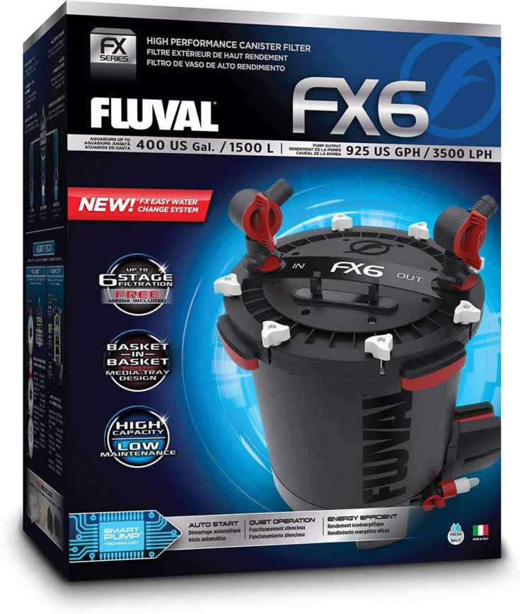 Fluval Canister Filter, FX6 Filter in a box