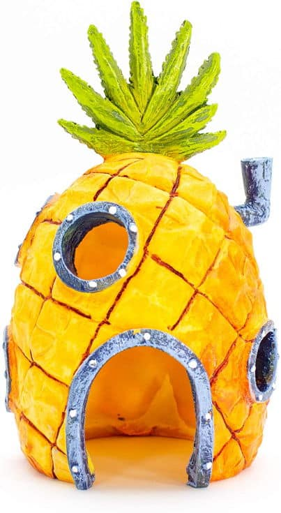 Penn-Plax Officially Licensed Nickelodeon SpongeBob SquarePants Aquarium Ornaments - Safe for Freshwater and Saltwater Tanks