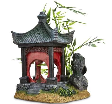 Imagitarium Asian Gazebo with Bamboo Ornament