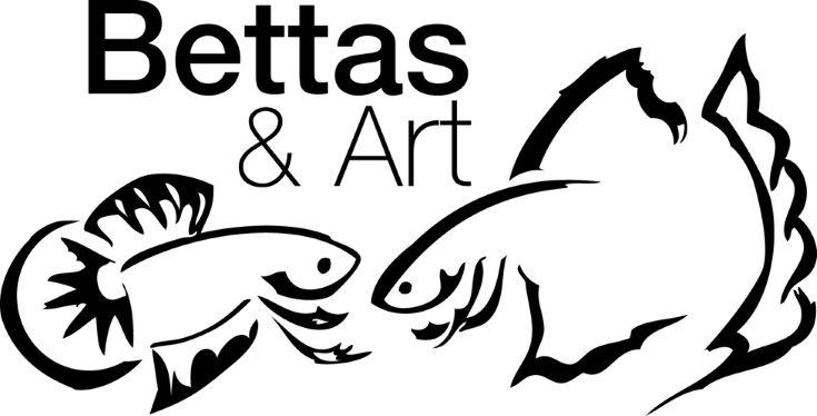 Bettas and Art logo