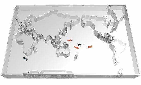 The World Map Aquarium