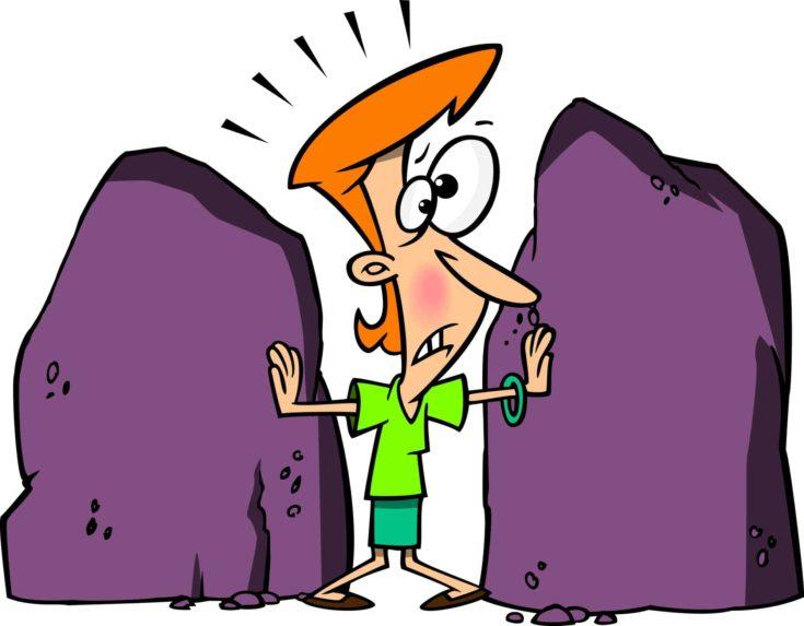 Cartoon Rock Boundaries
