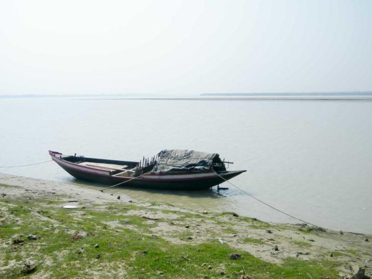 Ganges riverside coastal area near Bay of Bengal