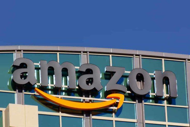 Amazon building in Santa Clara, California