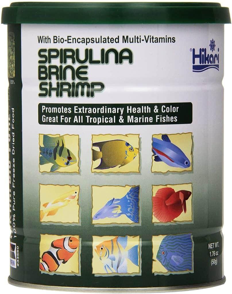 Hikari Bio-Pure Freeze Dried Spirulina Brine Shrimp Cubes