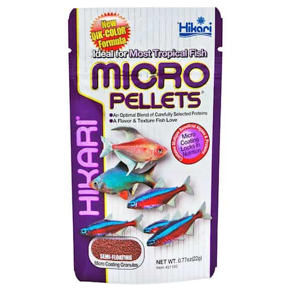 Hikari Tropical Semi-Floating Micro Pellets for Pets