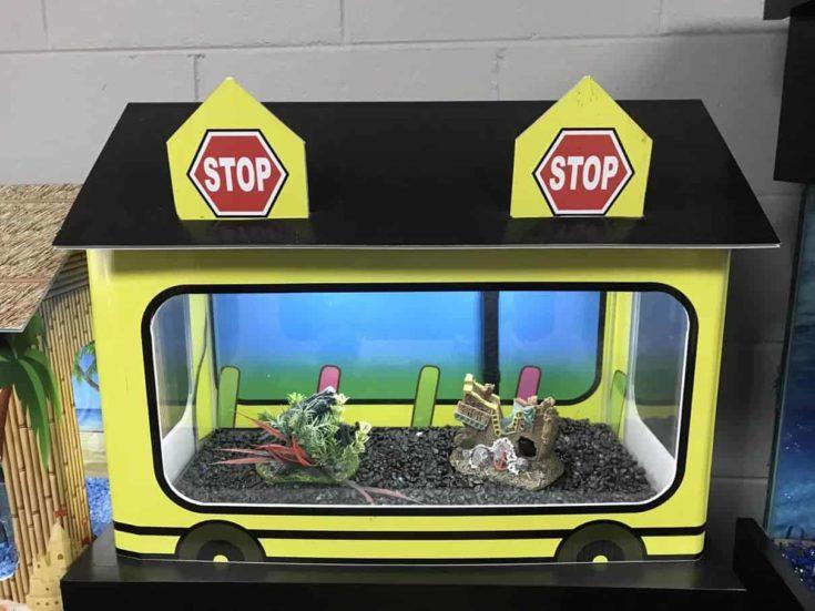 Perrone-10-Gallon-School-Bus-Aquarium-Tank-Cover