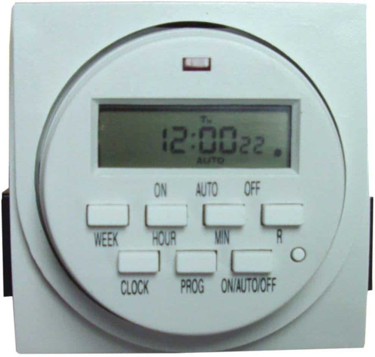 Hamilton Dual Outlet Grounded Timer